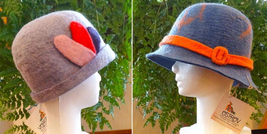 Sombreros y pashminas