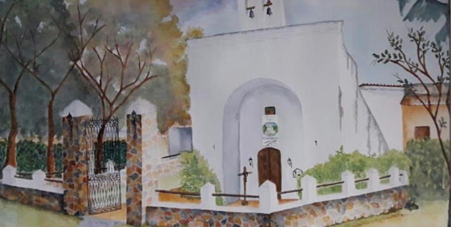 Iglesias y fachadas en acuarelas